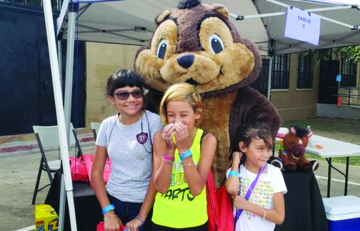 Smile Structure Dentistry & Braces San Antonio, TX Back to School Event hosted by SAHA